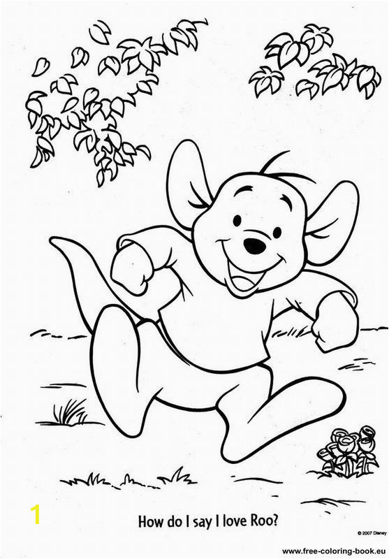 Coloring Pages Disney Winnie the Pooh Coloring Pages Winnie the Pooh Page 10 Printable