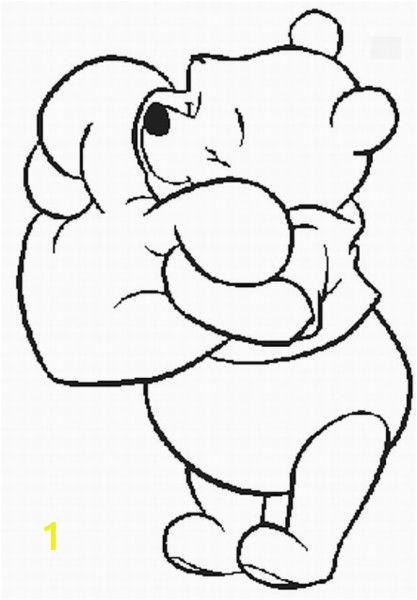 Coloring Pages Disney Winnie the Pooh Winnie Pooh Valentine Coloring Pages с изображениями