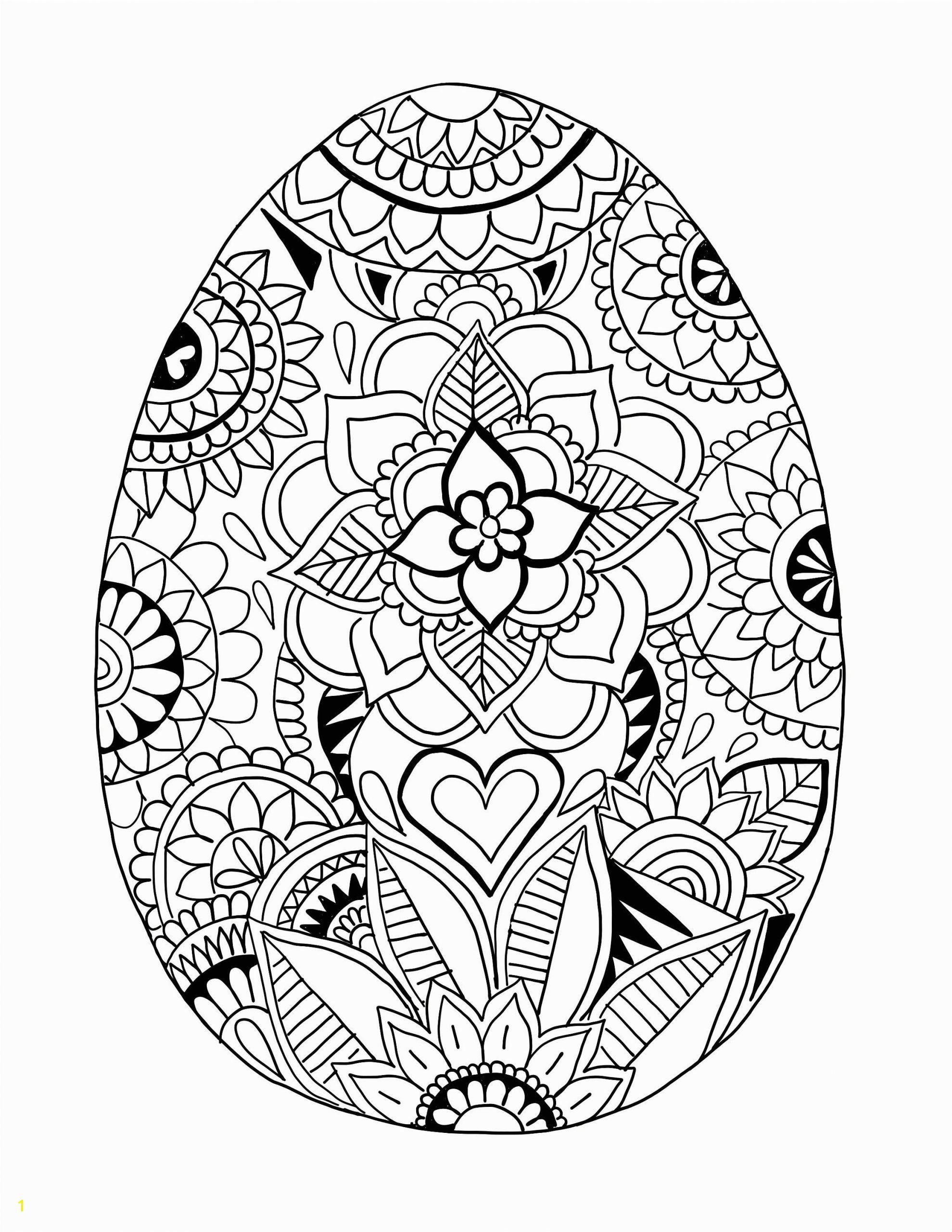 Coloring Pages Easter Eggs Printable Pin Auf Ausmalbilder Mandala