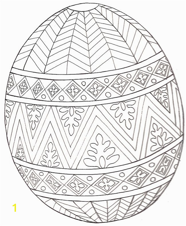 Coloring Pages Easter Eggs Printable Pin On Easter Preschool