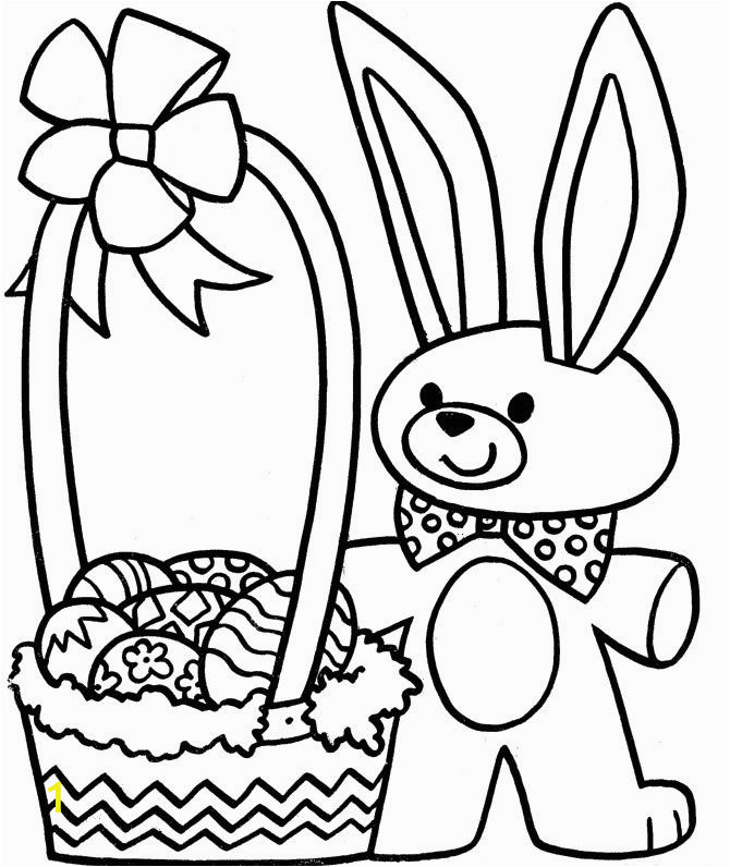 Coloring Pages for Easter Bunny Easter Coloring Pages Free Download
