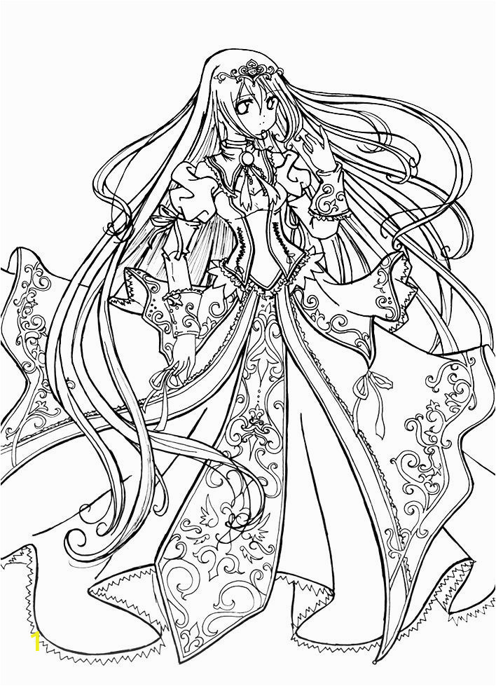 colouring pages for girls preschool cute anime chibi girl coloring pages lovely witch coloring page schon princess coloring pages love the anime this would be cool to of colouring pages for