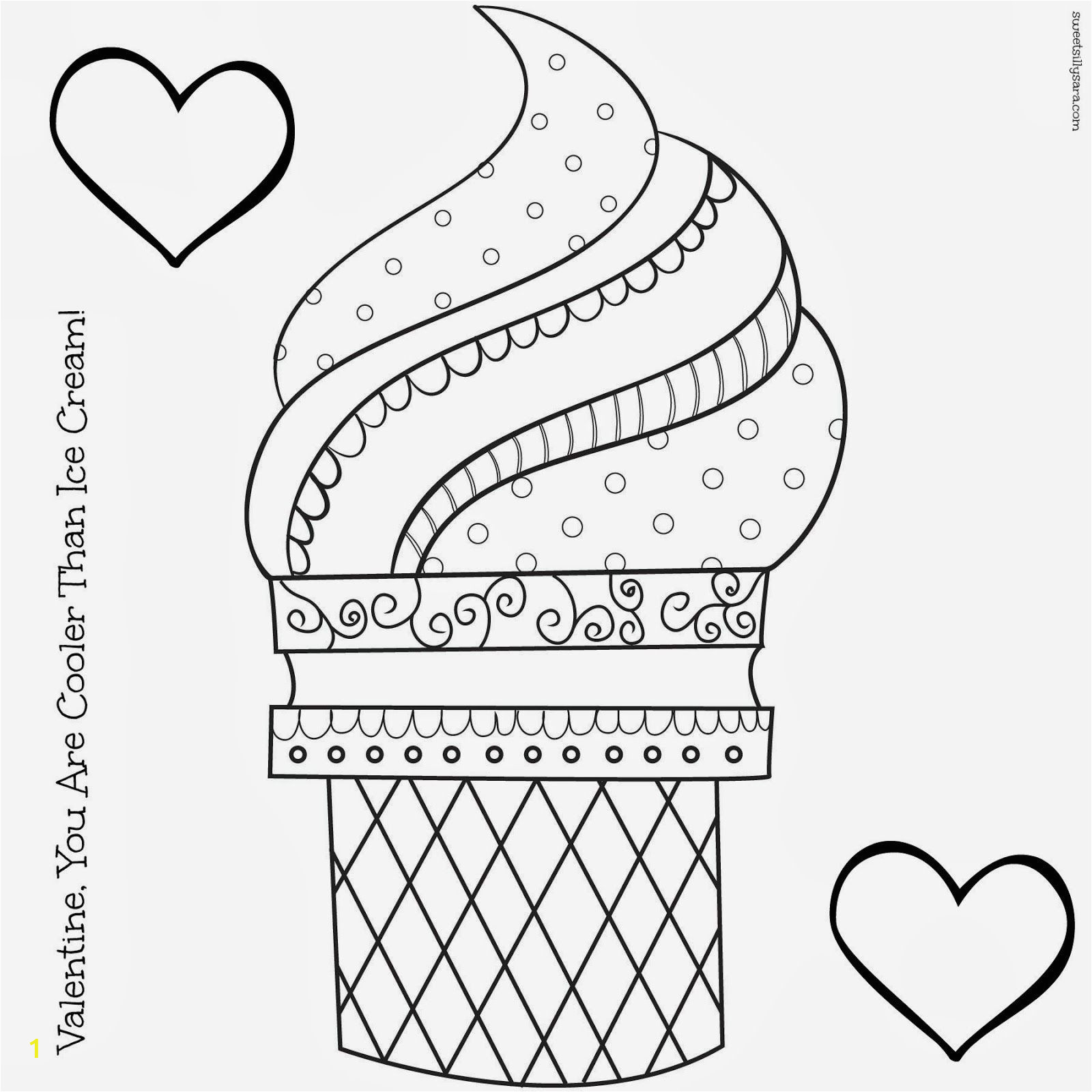 Coloring Pages for Ice Cream Ice Cream Coloring Pages with Images