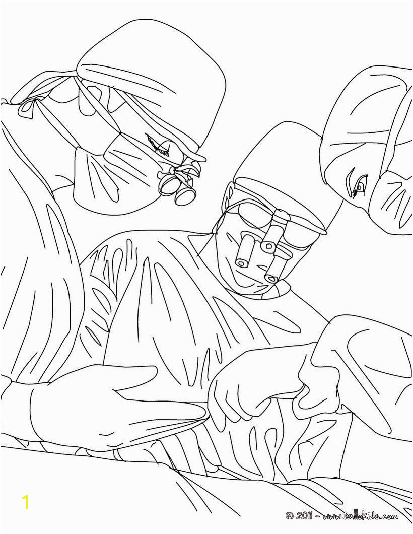 Coloring Pages for Job In the Bible Surgeon Operates On somebody Coloring Page Amazing Way for