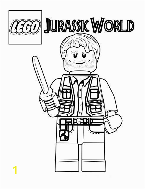 Coloring Pages for Jurassic World Jurassic World Coloring Pages