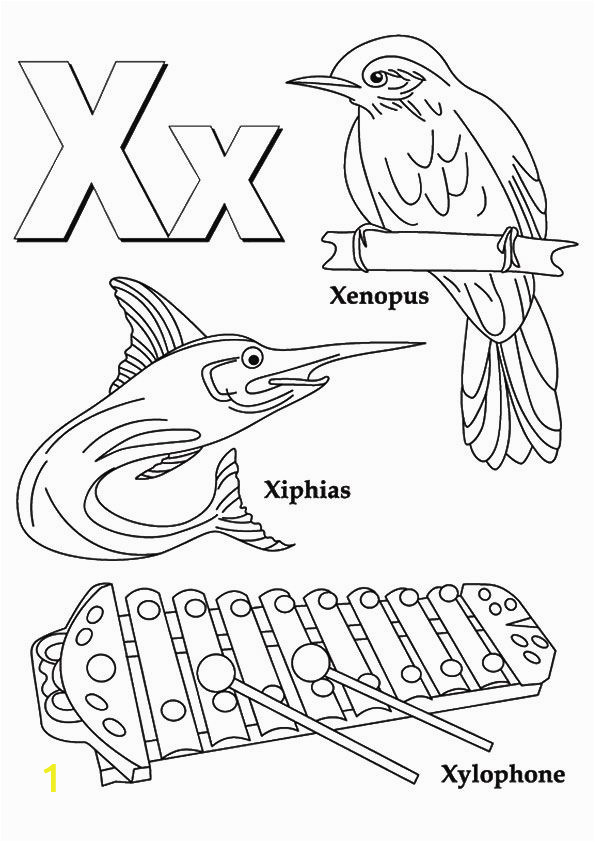 Coloring Pages for Letter X top 10 Letter X Coloring Pages Your toddler Will Love to