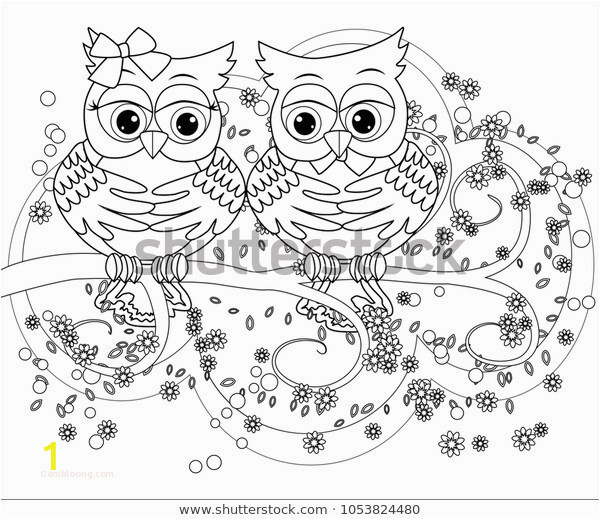 cute owl coloring pages best of coloring book adult older children coloring stock vector of cute owl coloring pages