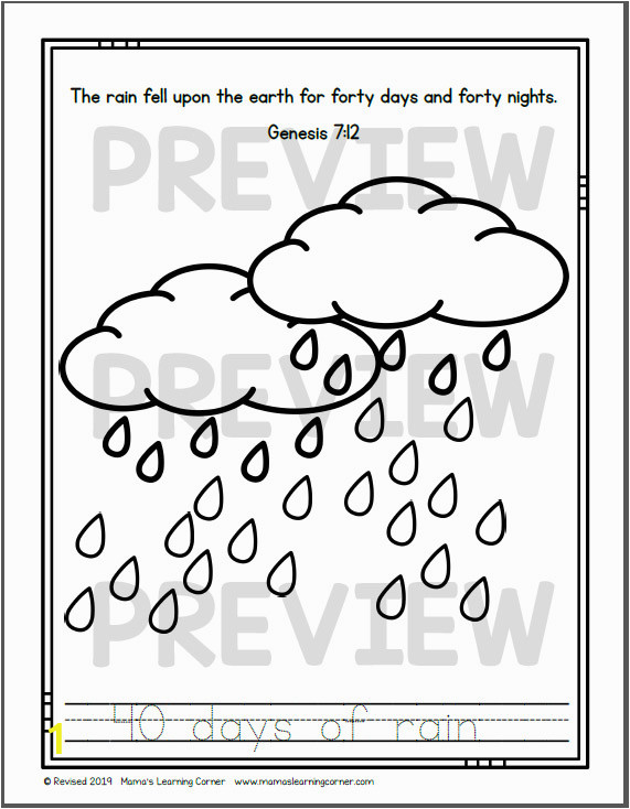 Coloring Pages for Rainy Days Noah S Ark Coloring Pages Mamas Learning Corner