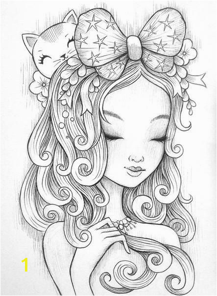 colouring pages for girls preschool cute anime chibi girl coloring pages lovely witch coloring page frisch pin by colormyworld on beautiful people of colouring pages for girls preschool cute