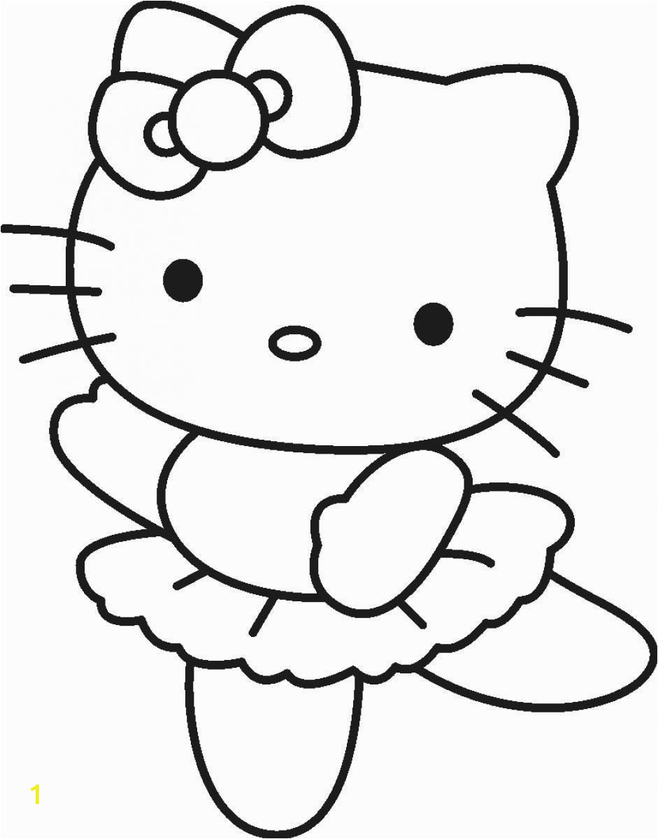 Coloring Pages Hello Kitty Ballerina Hello Kitty Ballerina Coloring Pages Coloring Pages