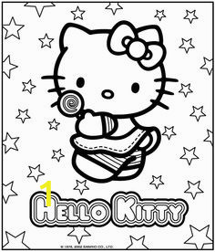 Coloring Pages Hello Kitty Birthday 13 Best Hello Kitty Birthday Images