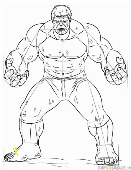 hulk 7 how to draw