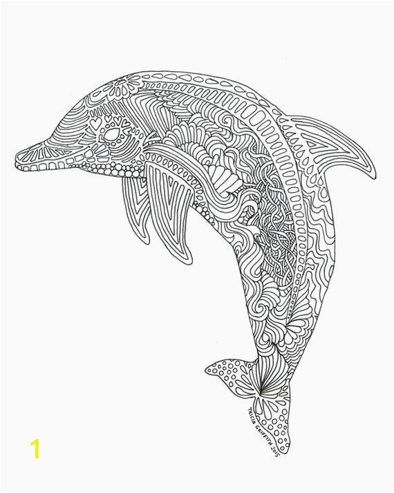 Coloring Pages Of Dolphins Printable Coloring Pages Dolphins Printable In 2020