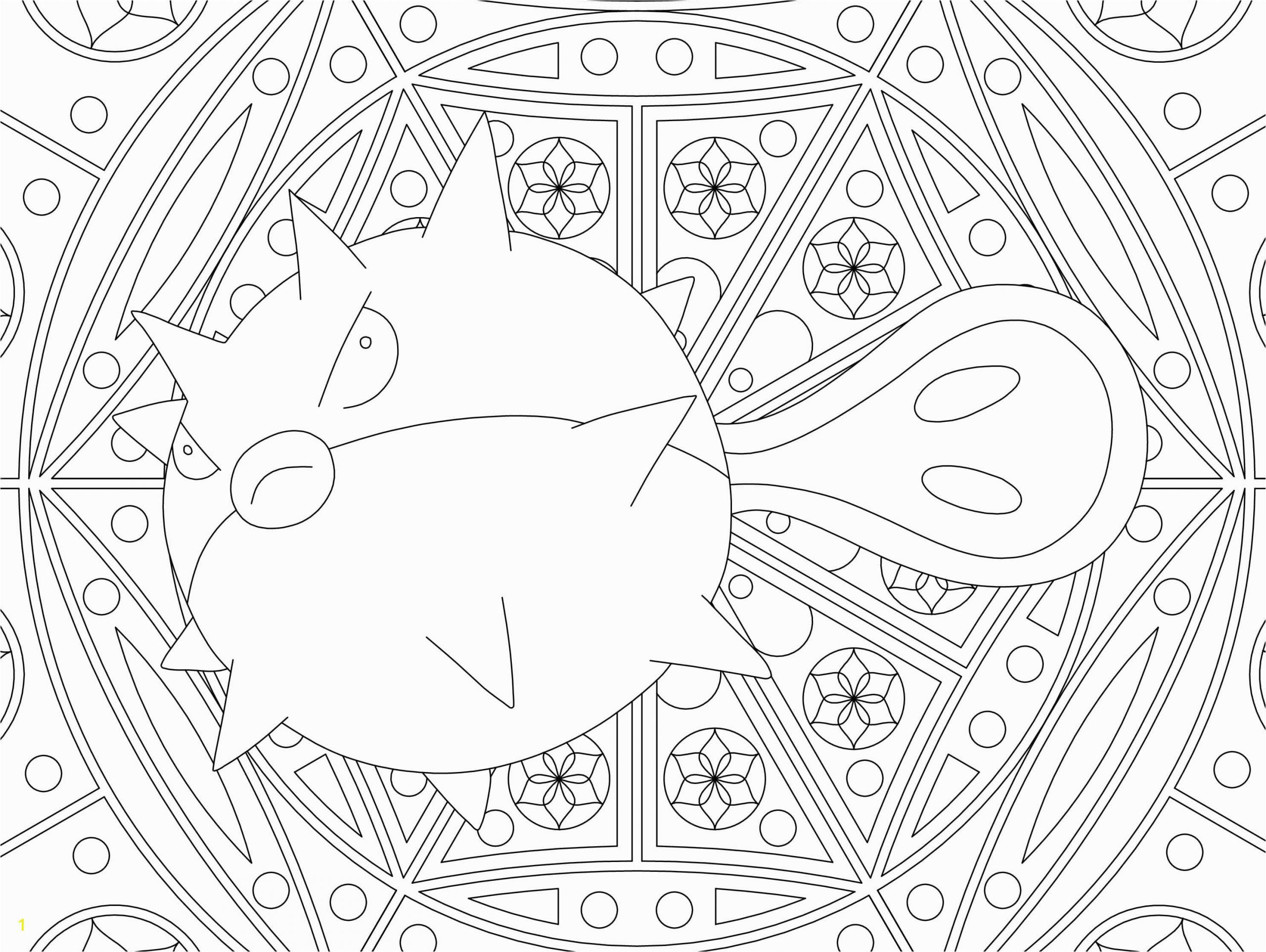 Raskrasil Pokemon mandala 73
