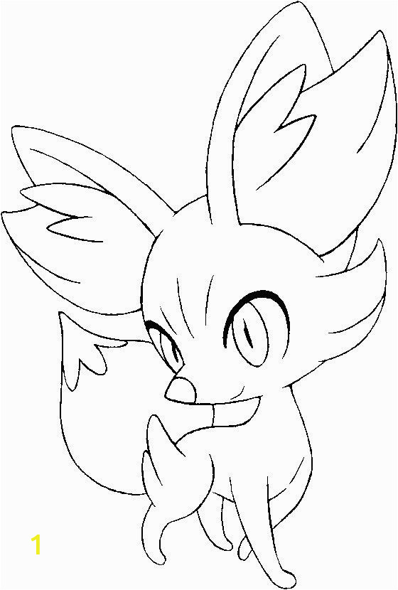 Coloring Pages Pokemon X and Y Pokemon X Y Feunnec G 1 560—830 Mit Bildern