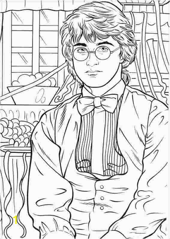 Coloring Pages Printable Harry Potter Best Printable Line Harry Potter Activties Coloring Pages