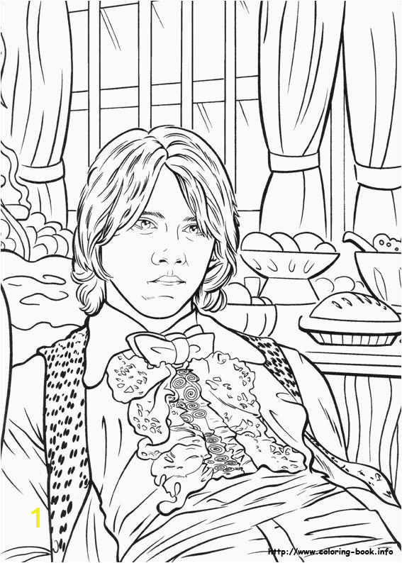 Coloring Pages Printable Harry Potter Harry Potter and the Goblet Of Fire 2000 Coloring Book