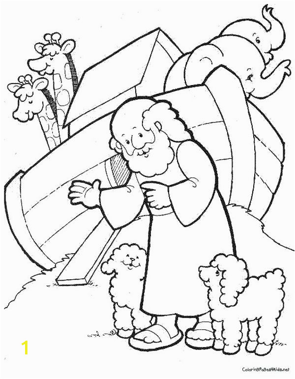 Coloring Pages Printable Noah S Ark Noah S Ark Coloring Pages Free Printables