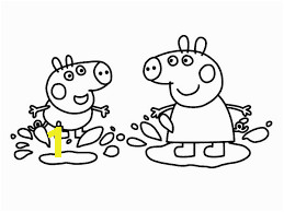 Coloring Pages Printable Peppa Pig Image Result for Peppa Pig Muddy Puddles Coloring Pages