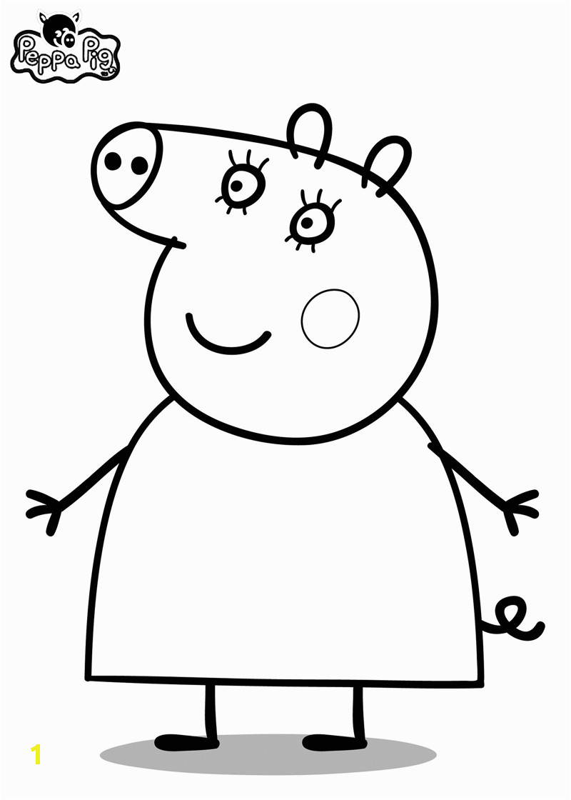 Coloring Pages Printable Peppa Pig Peppa Pig Coloring Pages