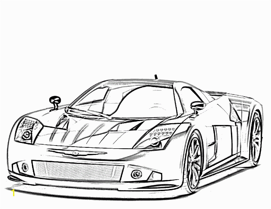 Coloring Pages Printable Race Cars 25 Sports Car Coloring Pages for Children 14