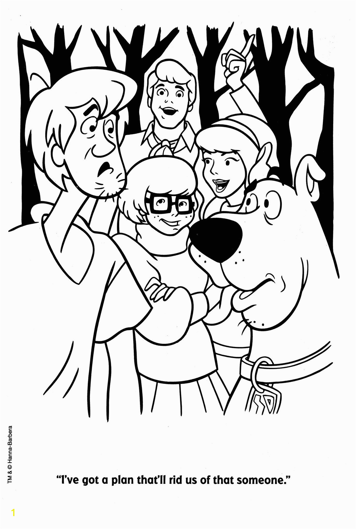 Coloring Pages Printable Scooby Doo Scooby Doo 30
