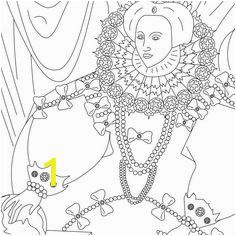 Coloring Pages Queen Elizabeth 1 | divyajanani.org