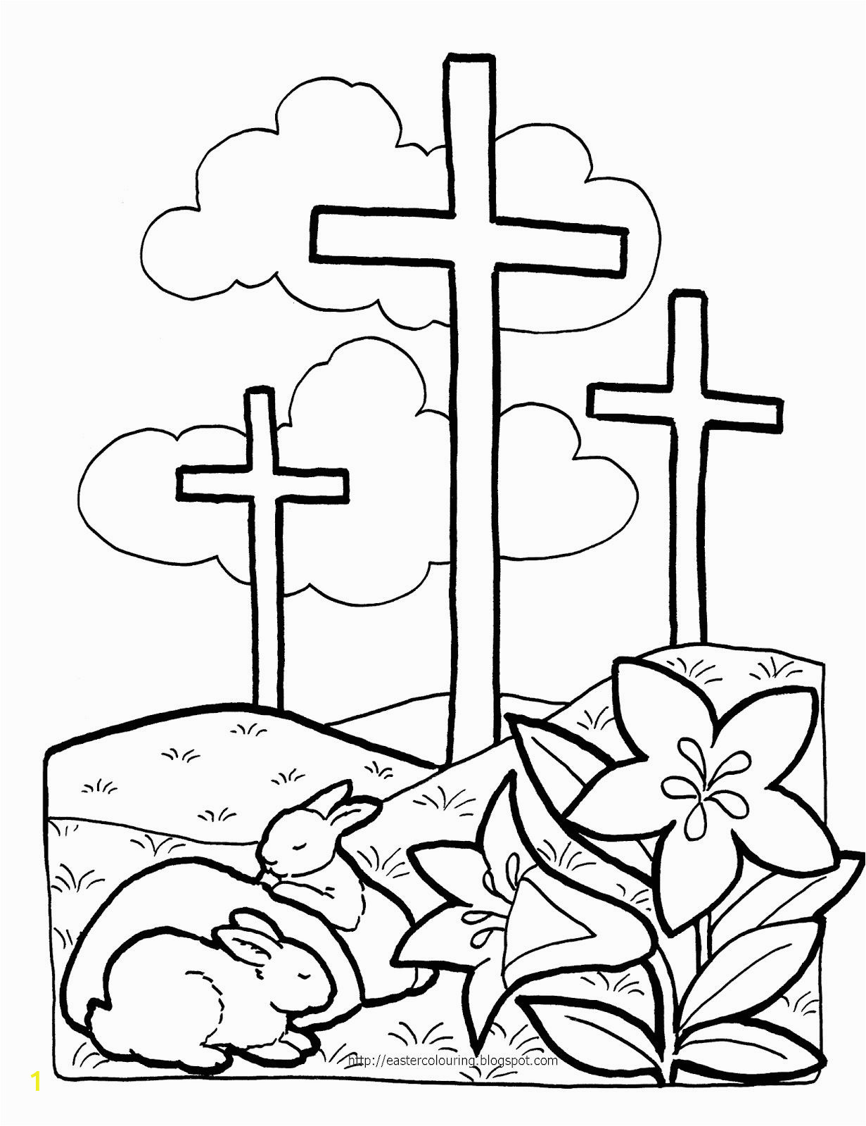 Coloring Pages Religious Easter Printable Pin Auf Kigo
