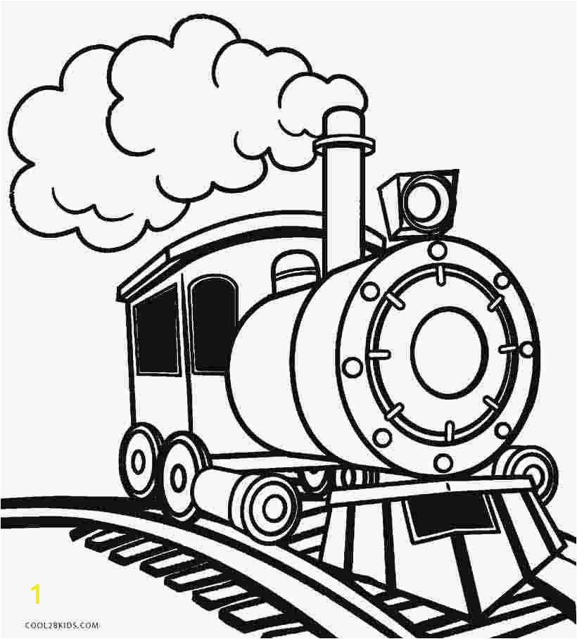 Coloring Picture Of A Train Engine Steam Engine Train Coloring Page with Images