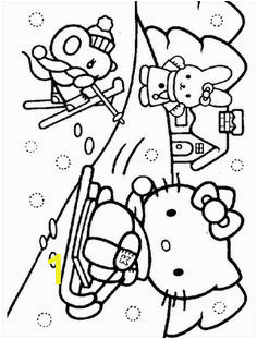 Crayola Hello Kitty Coloring Pages 281 Best Coloring Hello Kitty Images