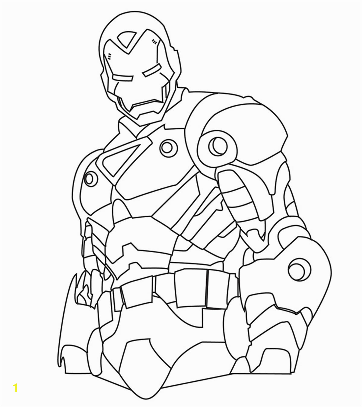 Top 20 Iron Man Coloring Pages You Toddler Will Love 1