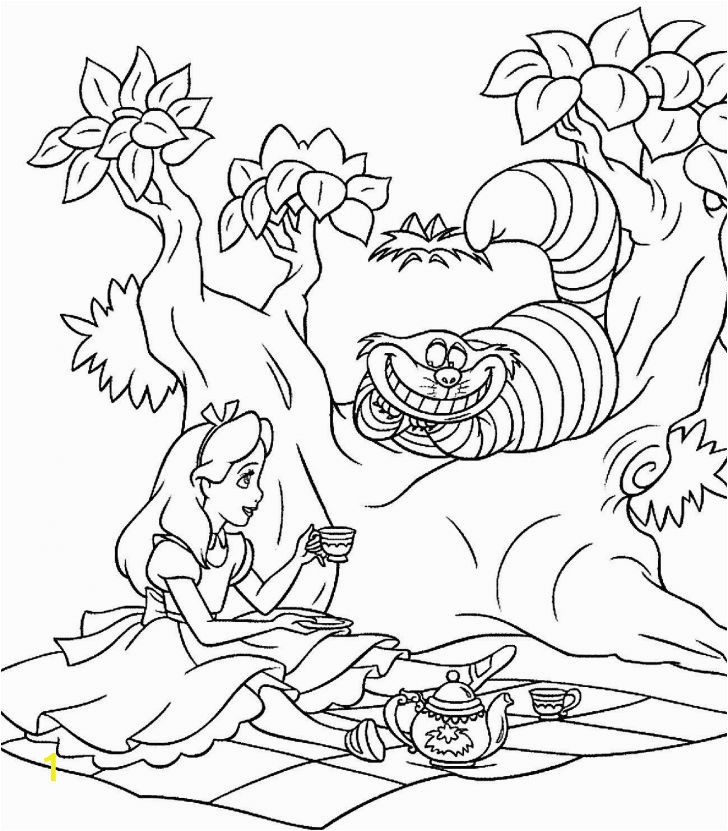 alice in wonderland adult coloring pages unique alice in wonderland coloring pages of alice in wonderland adult coloring pages 728x831