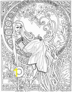 99fd1d1559ca52eae3e40e5136a disney art nouveau free coloring pages