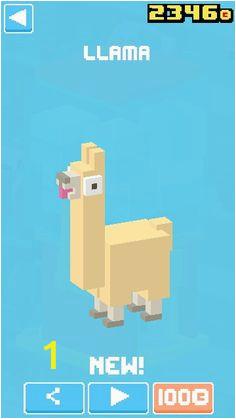 a ead7395fc474eb cdffce crossy road llamas