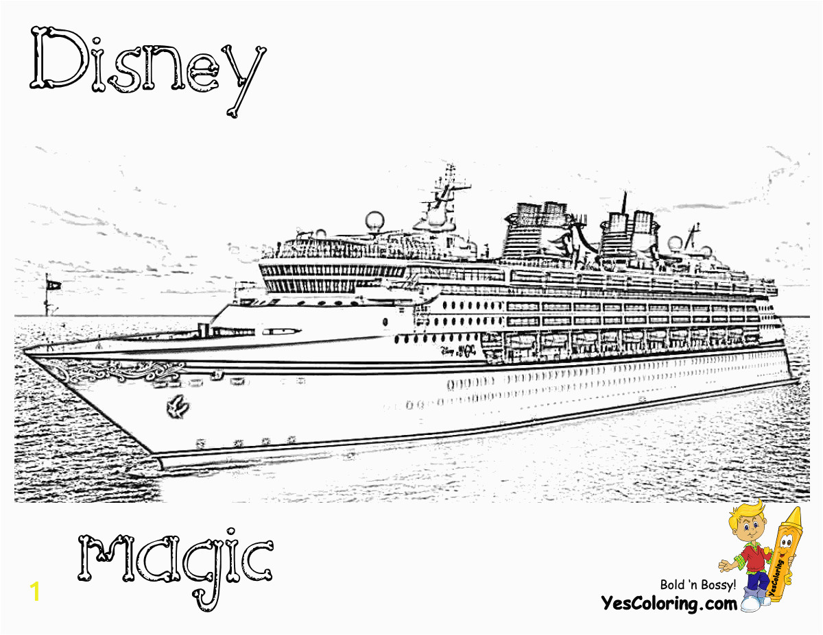 150 disney cruise ships coloring pages kids boys