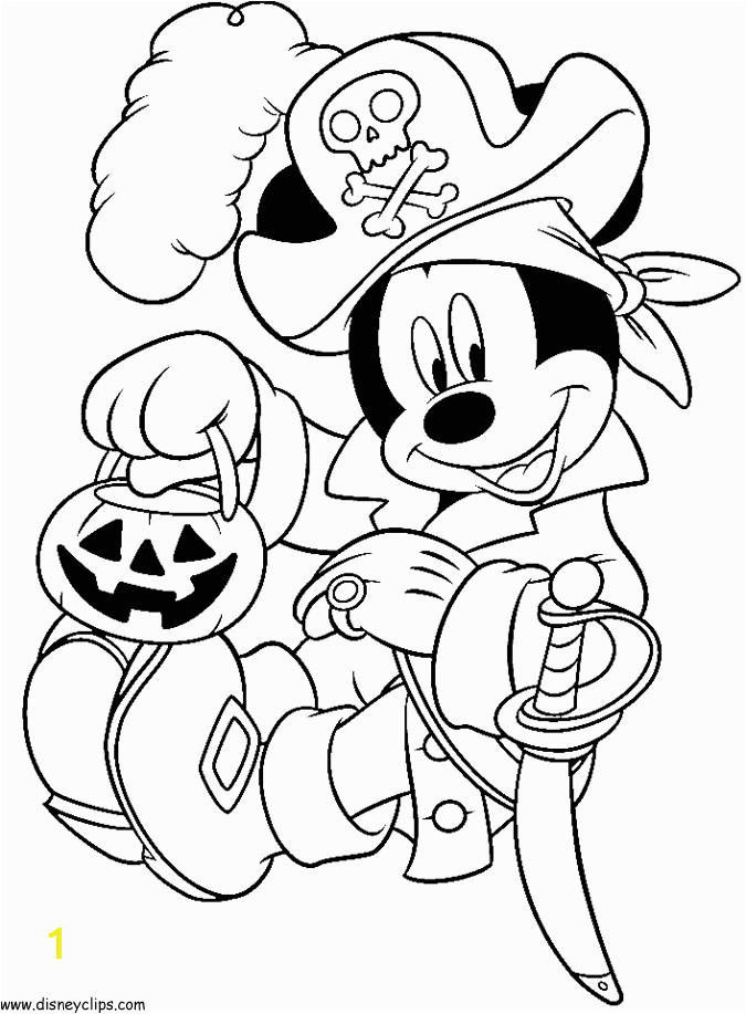 Disney Halloween Coloring Pages Pdf Free Disney Halloween Coloring Sheets with Images