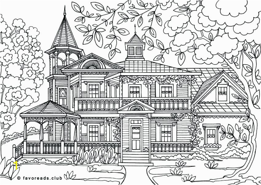 mansion coloring pages luigis 3 colouring authentic architecture