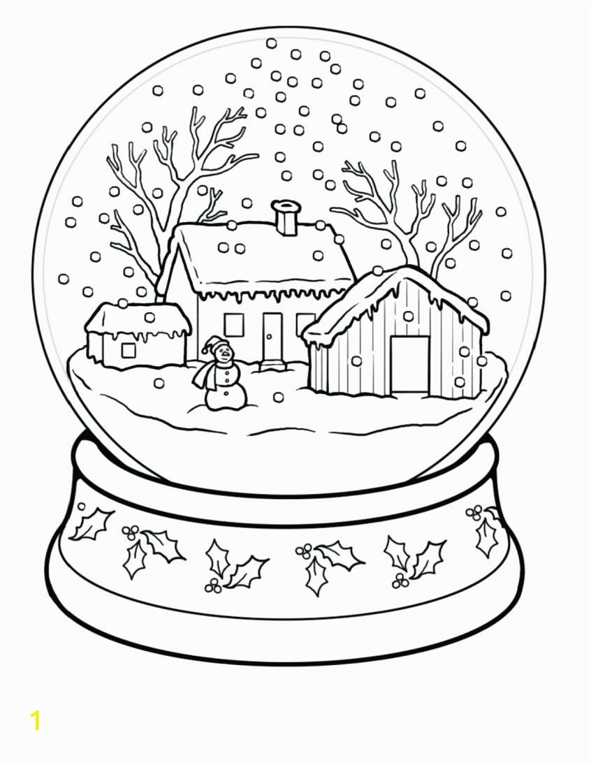 top coloring pages winter snow globe navy pier for kids pdf