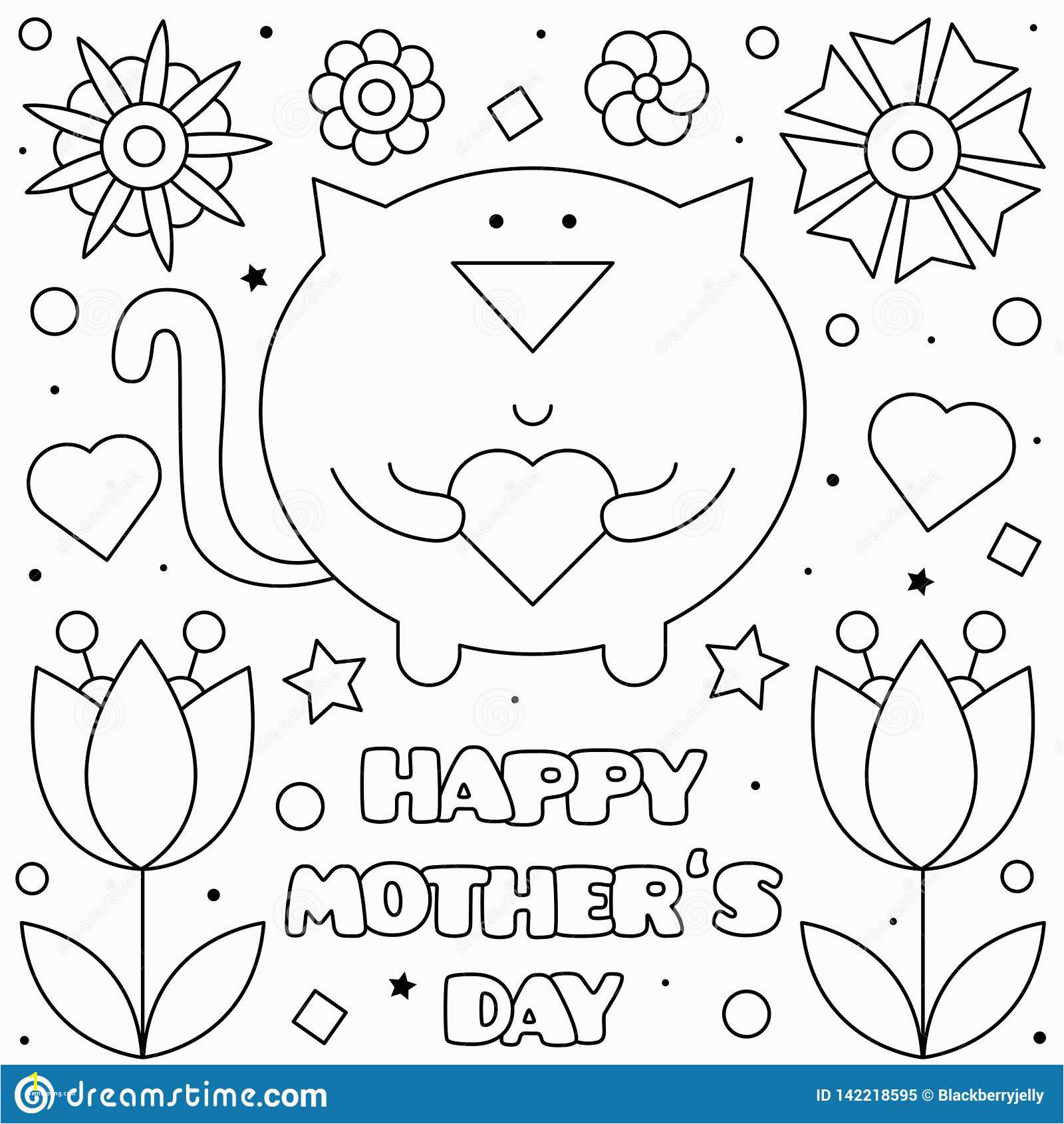 free adult coloring pages animals art happy mothers day coloring page vector illustration cat of free adult coloring pages animals