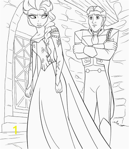 Disney Princess Coloring Pages Frozen Elsa and Anna 10 Best Elsa