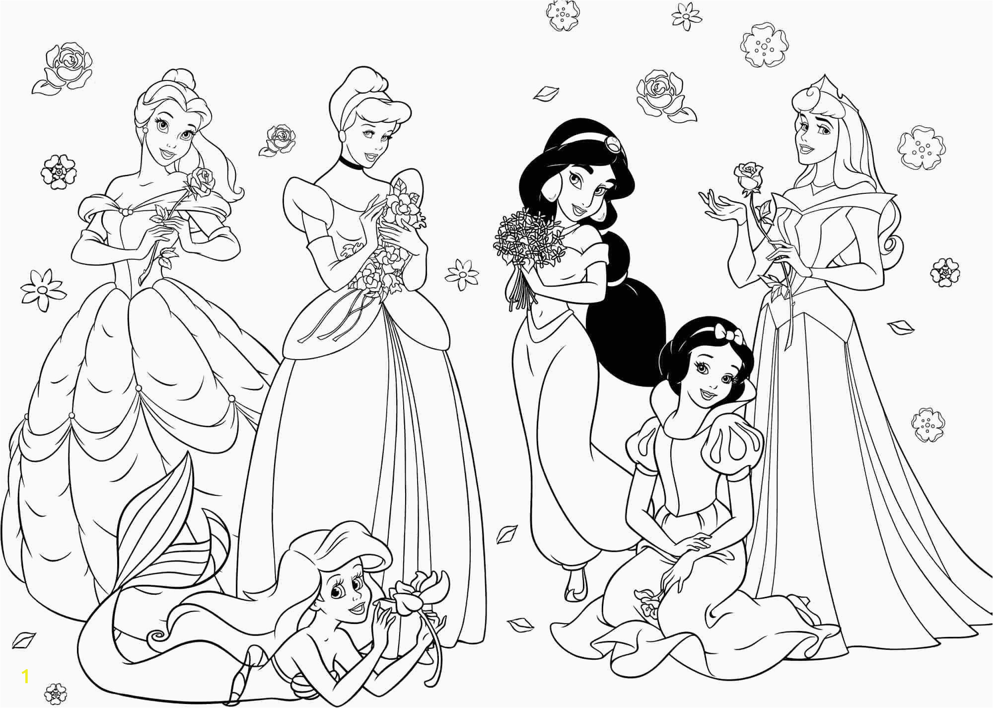 Disney Princess Coloring Pages to Print Tree Girl Coloring In 2020 with Images