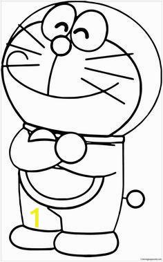 Doraemon Coloring Pages to Print Happy Doraemon 1 Coloring Page
