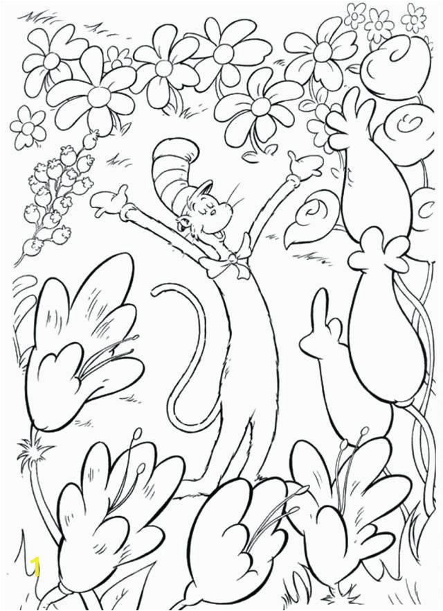 Dr Seuss Coloring Pages Printable Dr Seuss Coloring Pages Cat In the Hat Coloring Pages
