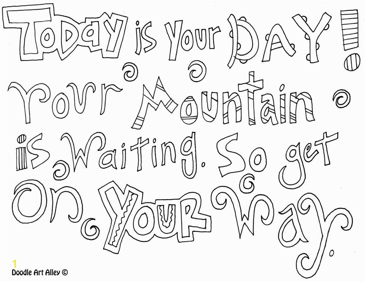 Dr Seuss Coloring Pages Quotes Free Printable Dr