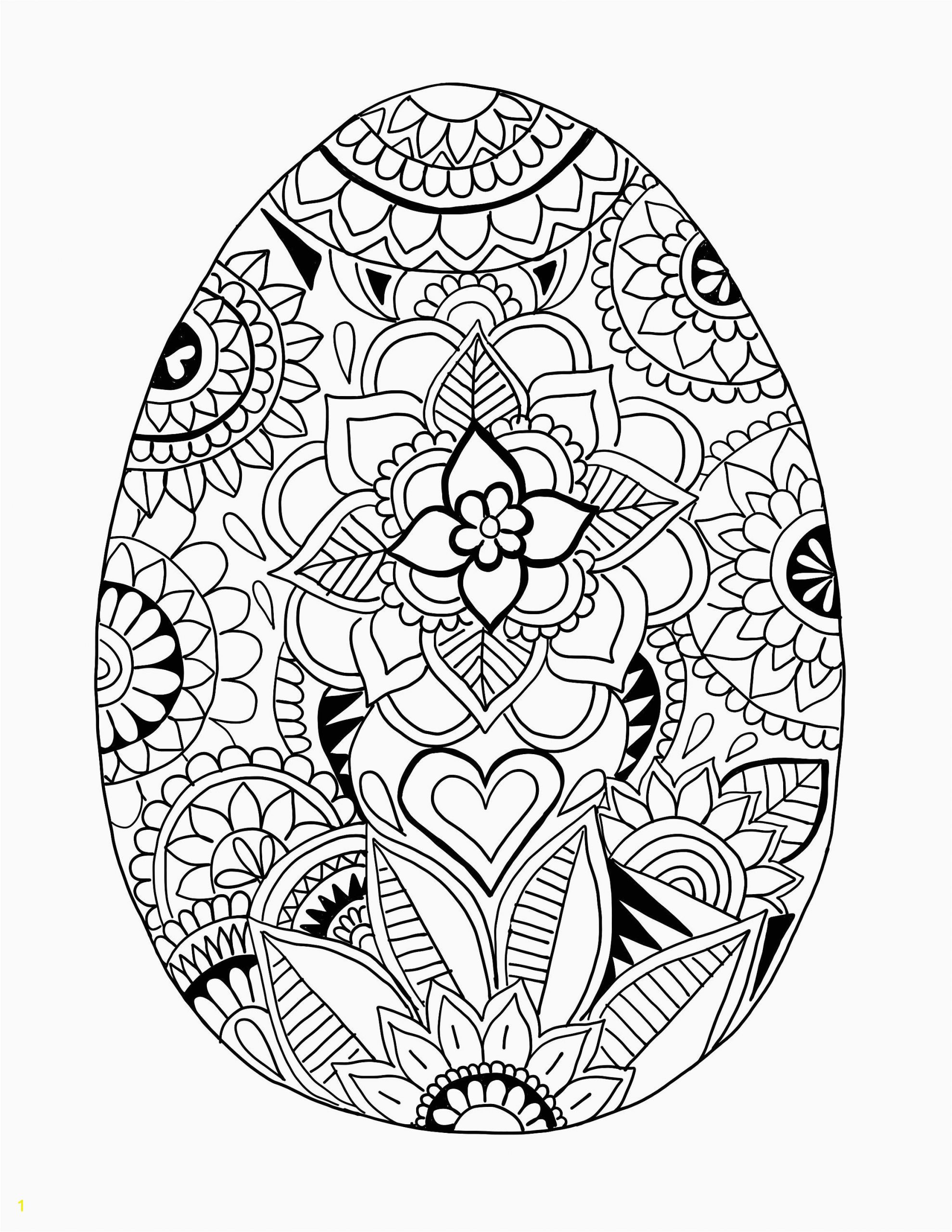 Easter Egg Coloring Pages Printable Pin On Adult and Kids Coloring Pages