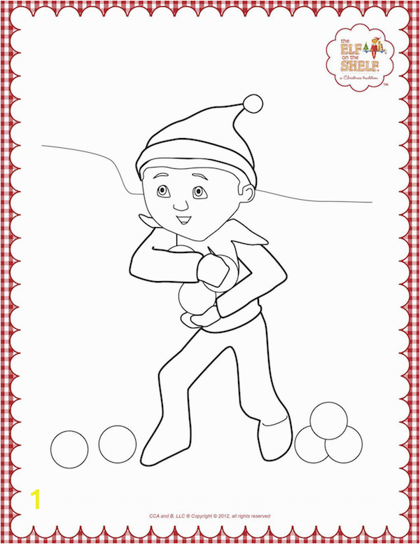 elf on the shelf coloring pages 19 8773