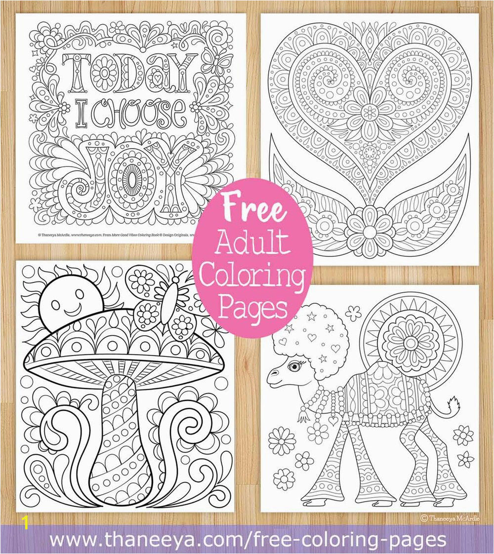 free adult coloring pages by Thaneeya McArdle
