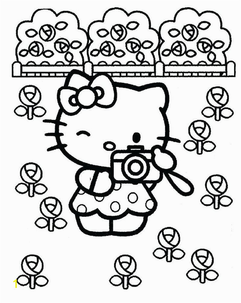 Free Coloring Pages Of Hello Kitty and Friends Free Kitty Coloring Pages Hello Kitty is A Fictional