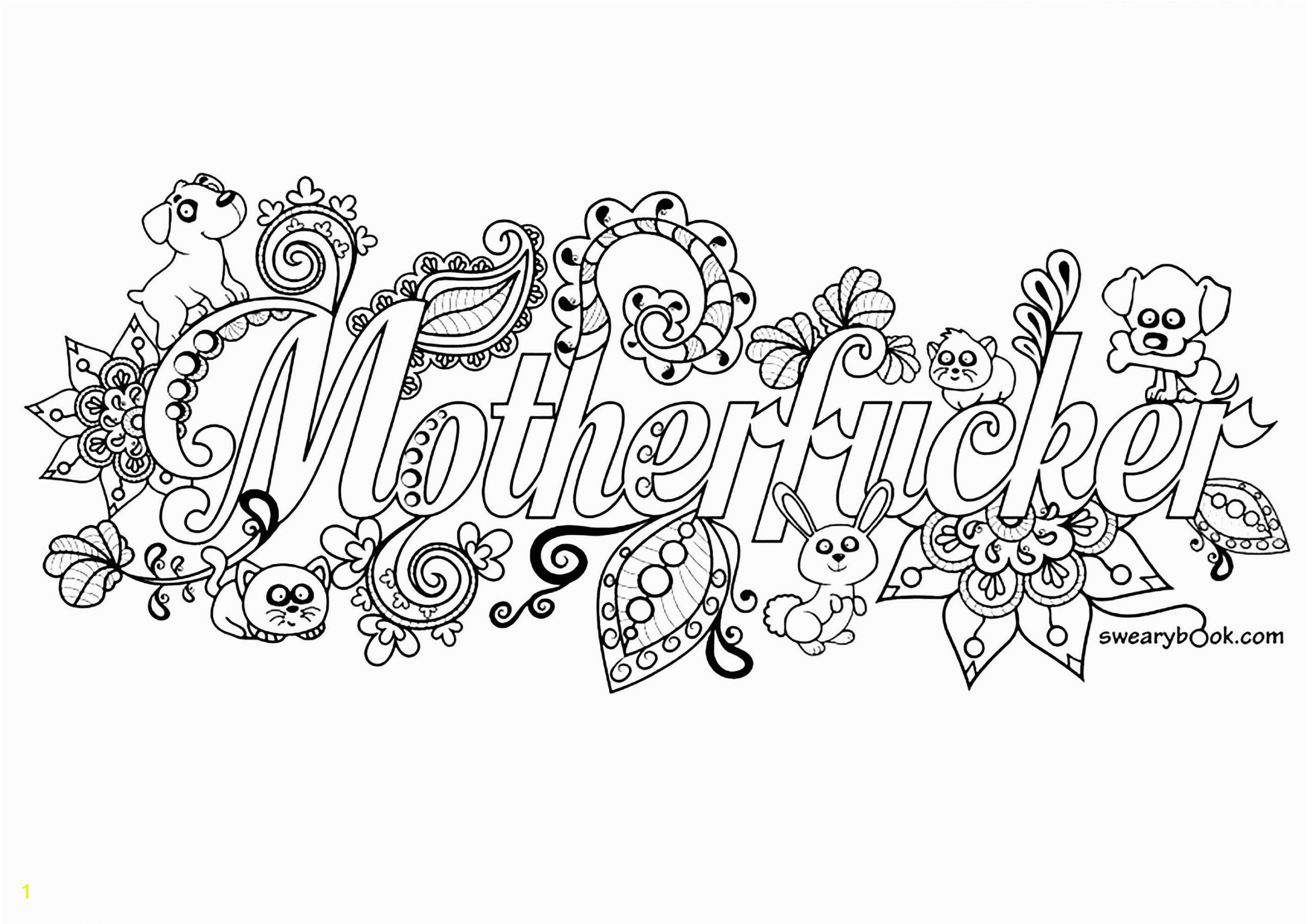 free swear word coloring pages for adults lovely free printable coloring pages for adults cuss words of free swear word coloring pages for adults scaled