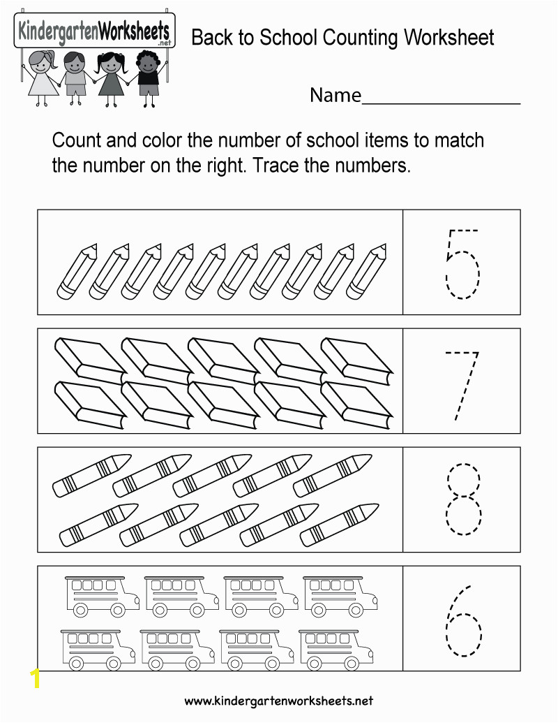 back to school counting worksheet printable